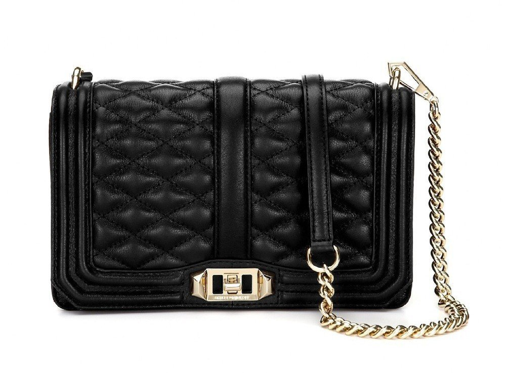 02e934e434df69 Rebecca Minkoff's Love Crossbody, An Affordable Alternative to the Boy  Chanel Flap Bag