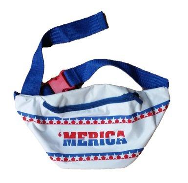 'Merica blacklight fanny pack