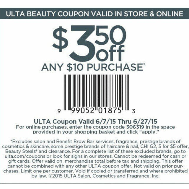 ulta coupon code for my makeup lovers! ulta is also having a