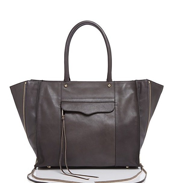 Rebecca Minkoff Side Zip MAB Tote, a dupe for the Phillip Lim Pashli Satchel