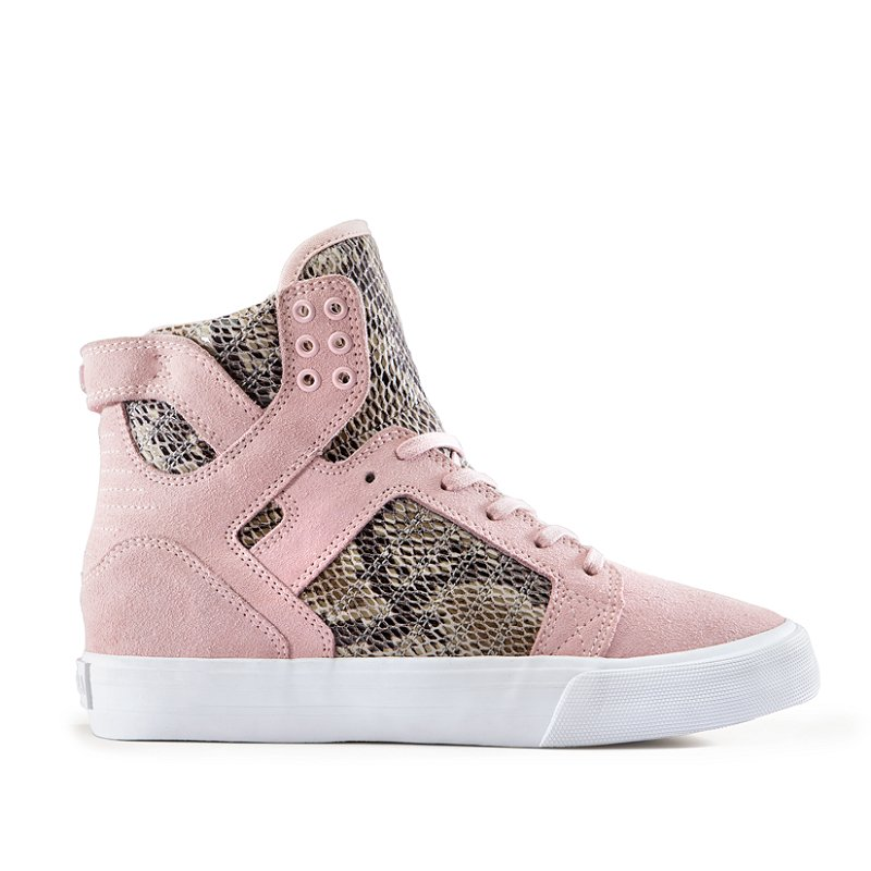Elise Walker X Supra Skytop Wedge Women High Top Sneaker Review