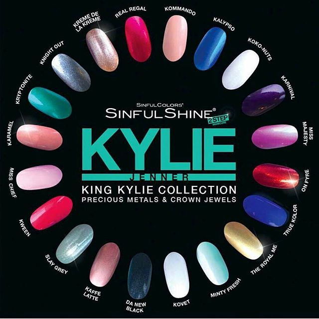 The Kylie Jenner X Sinful Colors nail polish collabo are in Walmart stores now!  Can't wait to pick some of these colors up at wally world.  Which color would you buy?  Tag a friend on a color that would look great on them