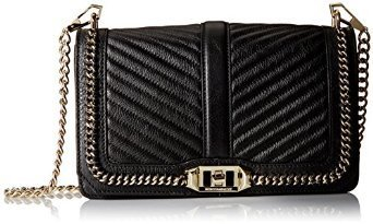Love Crossbody with Chain Black