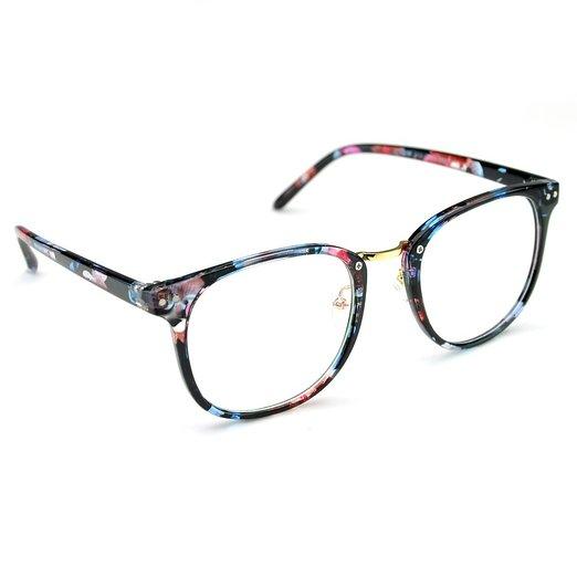 Floral Oversized Eyeglasses Cat Eyes Amp Candy Fashion