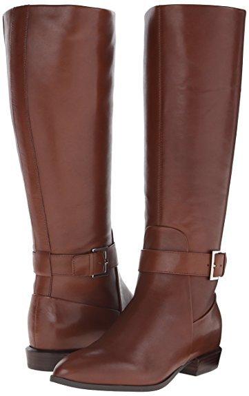 nine-west-single-stap-boot-dark-brown