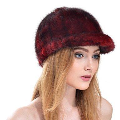 fur-cap-wine-red