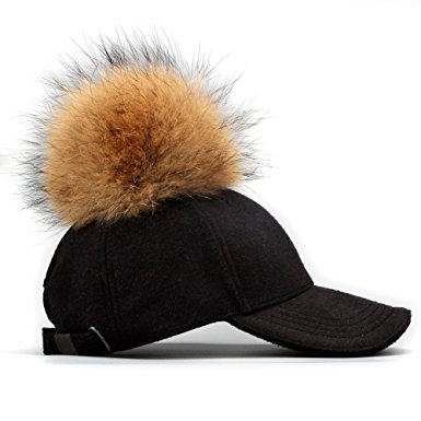 fur-pom-pom-baseball-cap-black-side