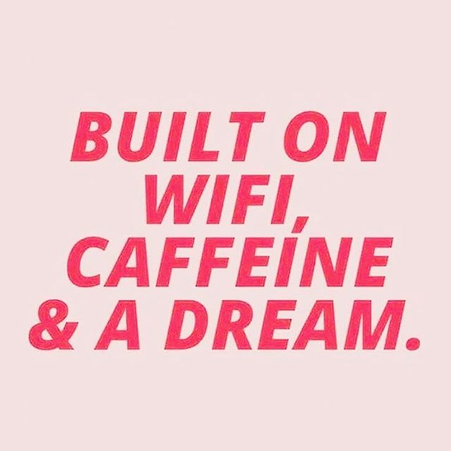 Monday Vibes & all the coffee  What's your dream? ---#bossbabesworldwide #bossbabe #girlboss #whoruntheworldgirls #hustle #womensupportingwomen #feminist #beyourownboss #ambition #girltribe #communityovercompetition #9tothrive #dowhatyoulove #quoteoftheday #girltalk #femaleboss #femalefounders #staybossyladies #hustle #blog #bloggerlife #selflove #loveyourself (@CatEyesAndCandy on IG)