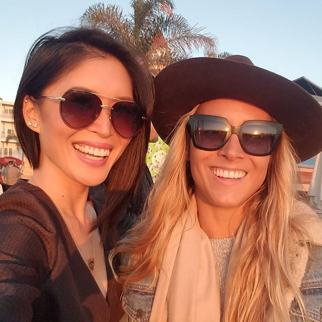 Happy Birthday Ale 🤟 #birthdaygirl #coronado #sandiego #beachsunset (@CatEyesAndCandy on IG)