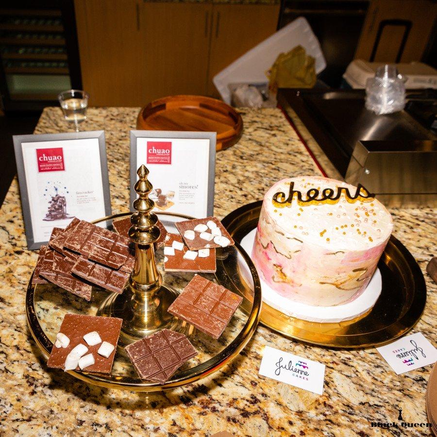Chuao chocolate - Julienne Cakes - San Diego Desserts