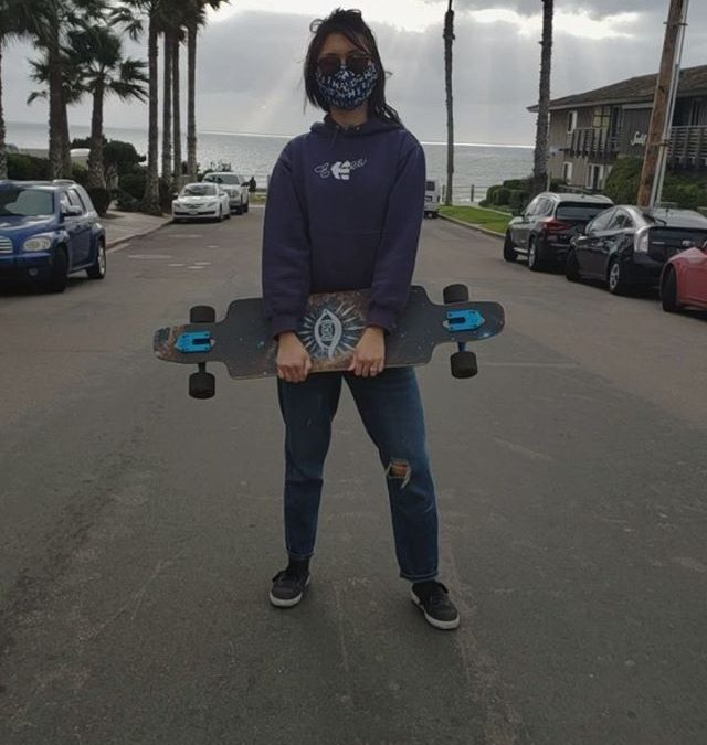 First time outside in awhile, felt good to get some fresh air and move a little after being inside for who even remembers anymore. Got a quick little skate in with my mask on and social distanced. Definitely makes you appreciate the simple things like just being outside or exercising😀