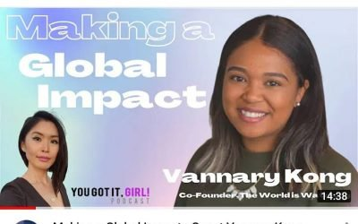 Loved chatting with Vannary on the newest episode of the @yougotitgirlpodcast where we discuss making a global impact as well as style & beauty tips. Plus a hack for regrowing your hair!Listenon iTunes or Spotify & 👁👁Watch  on YouTube **link in bio**