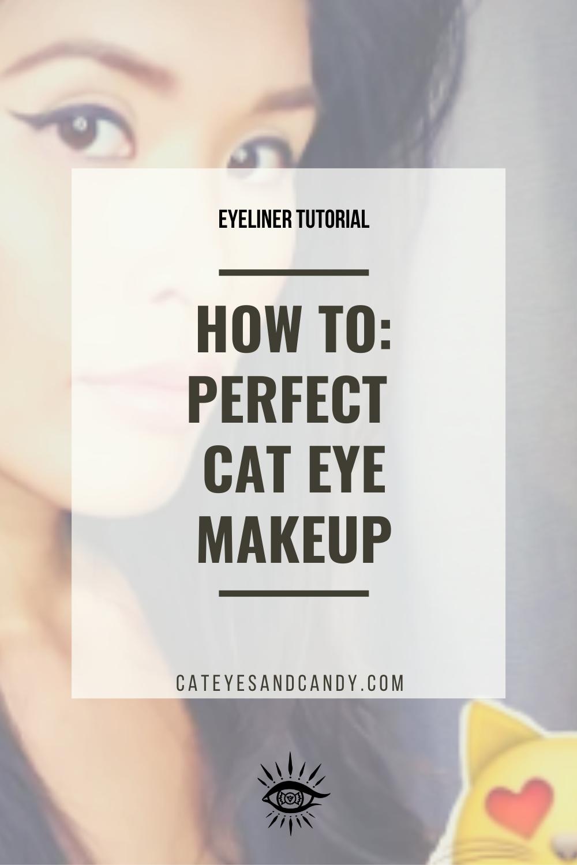 Cat Eye Makeup Video Tutorial