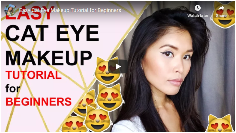 Eyeliner Tutorial – Classic Cat Eye